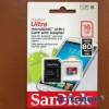 microSD 16GB SanDisk Ultra Android 80MB/s Class 10